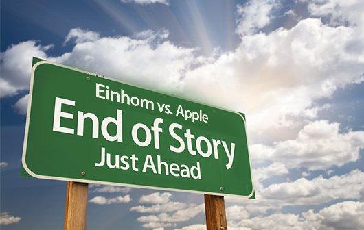 Einhorn zieht Klage gegen Apple zurück