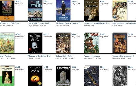 Über 1000 englische Hörbücher kostenlos - für Anfänger und Fortgeschrittene