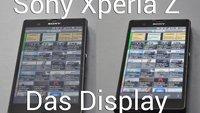 Sony Xperia Z - Displayprobleme gehen mit einem Klick weg