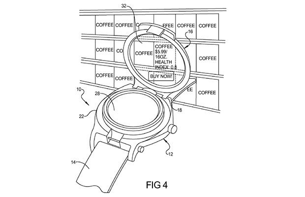 google android smartwatch patent