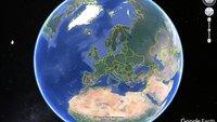 Wo steht die Google Earth 3D Gebäude Ansicht zur Verfügung?