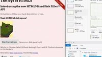 """Browser-Bug erlaubt """"Fluten"""" von Festplatte mit Daten"""