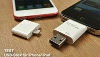 Speicher für iPhone und iPad: Der USB-Stick i-FlashDrive HD im Test