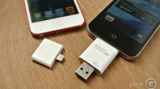 Gibt es einen USB-Stick oder USB-Adapter für iPad?