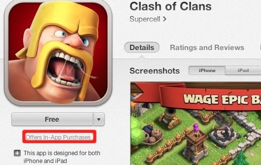App Store: Apple zeigt Hinweis für In-App-Einkäufe in Apps