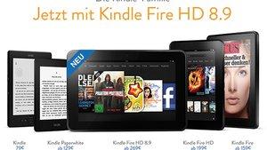 Amazon Kindle Fire HD 8.9 jetzt in Deutschland erhältlich