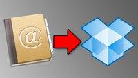 Tipp: Mit Dropbox Kontakte löschsicher speichern