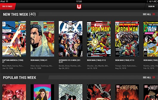 Marvel Unlimited: Neue App für Comic-Fans