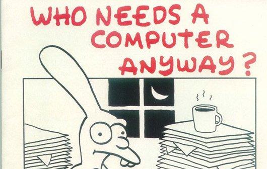 Fund des Tages: Matt Groenings Illustrationen für Apple