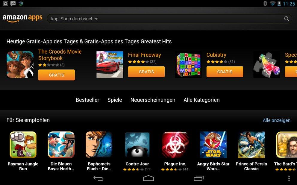 Amazon Gratis Apps