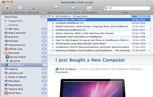 RSS Reader NetNewsWire soll eigene Synchronisations-Funktion bekommen
