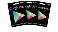 Play Store Geschenkkarten auf dem Weg nach Europa