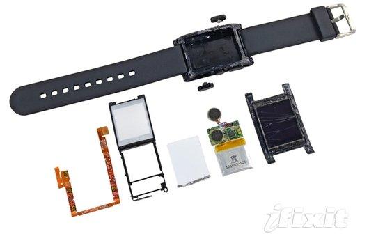Pebble Smartwatch auseinandergenommen: Unreparierbar