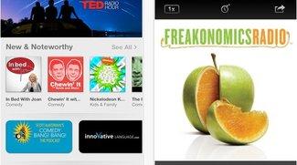 Podcasts-App: Neue Version 1.2 kommt ohne Skeuomorphismus aus
