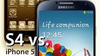 Samsung Galaxy S4 vs. iPhone 5: Technische Daten im Vergleich