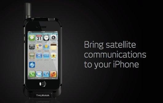 iPhone als Satellitentelefon: Thuraya SatSleeve vorgestellt