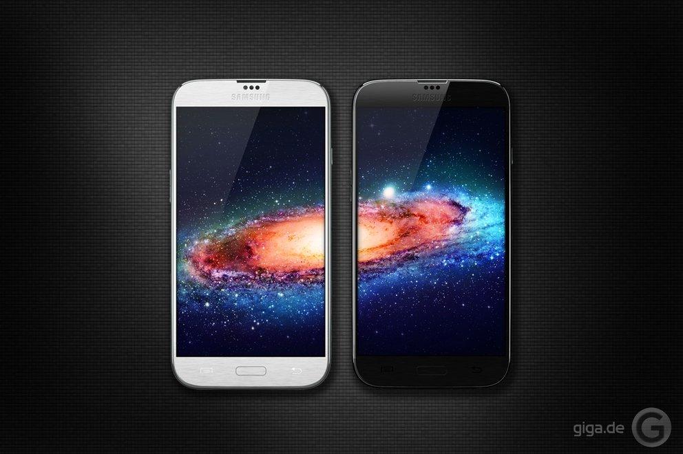Samsung Galaxy S4 Mockup