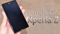 Sony geht baden: Sony Xperia Z - Hands-On