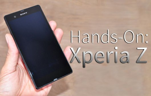 Sony Xperia Z - Hands-On