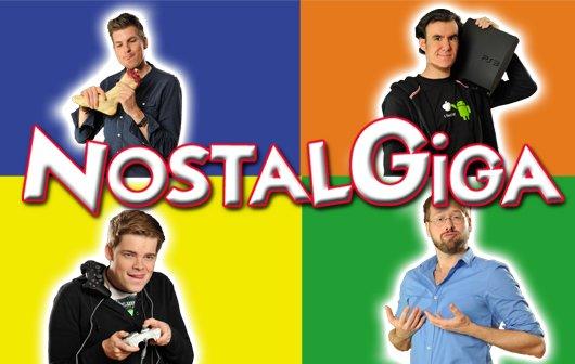 Die GIGA-WG im NostalGIGA zu Die Sims