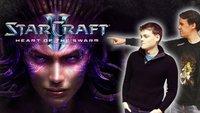 StarCraft 2: Heart of the Swarm - GIGA Gameplay