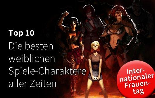 Frauen-Figuren in Games: Die 10 besten weiblichen Spiele-Charaktere aller Zeiten