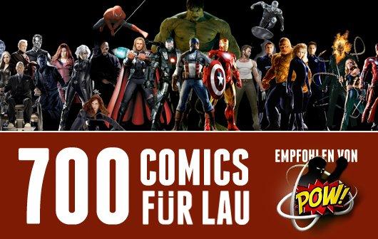 ComiXology-Sonderaktion: 700 Marvel-Comics kostenlos lesen