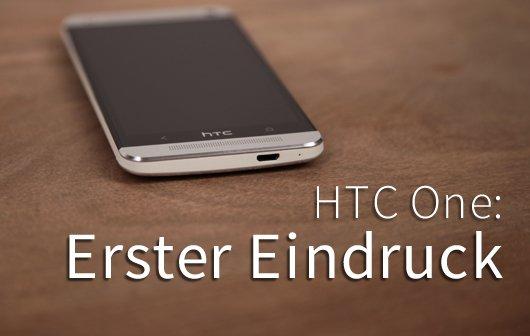 HTC One - Erster Eindruck von Spaltmaßen, Sense 5, Zoe und Boomsound