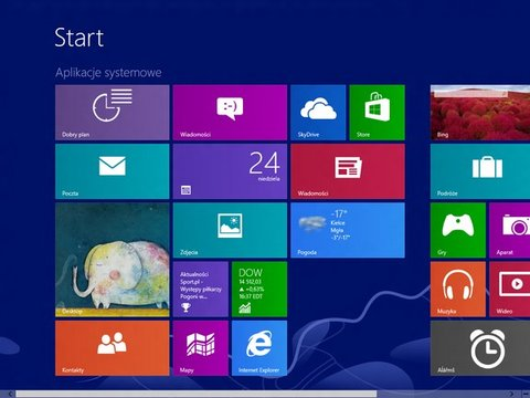 Windows Blue: Screenshot