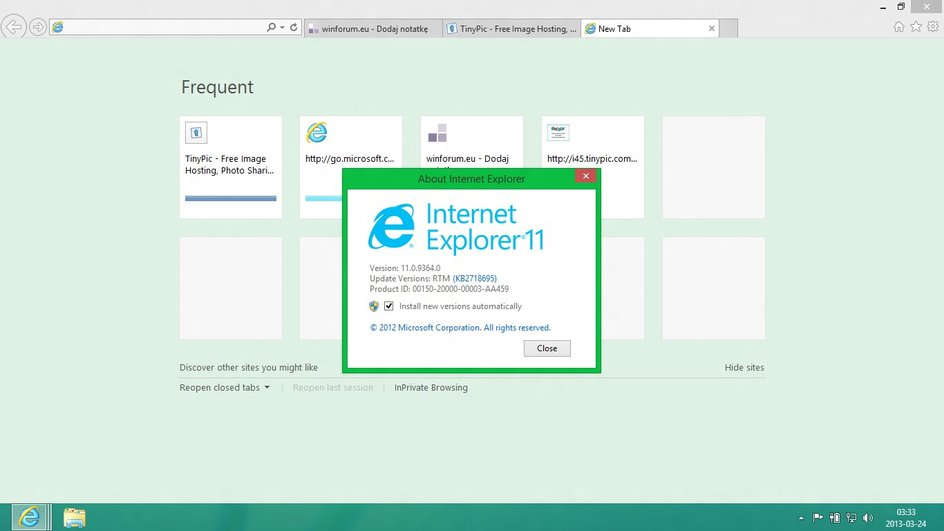 Windows Blue: Internet Explorer 11