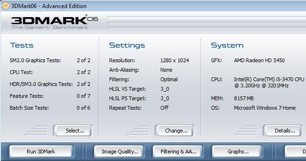 3DMark06: Benchmark-Tool mit Shader Model 3.0-Unterstützung