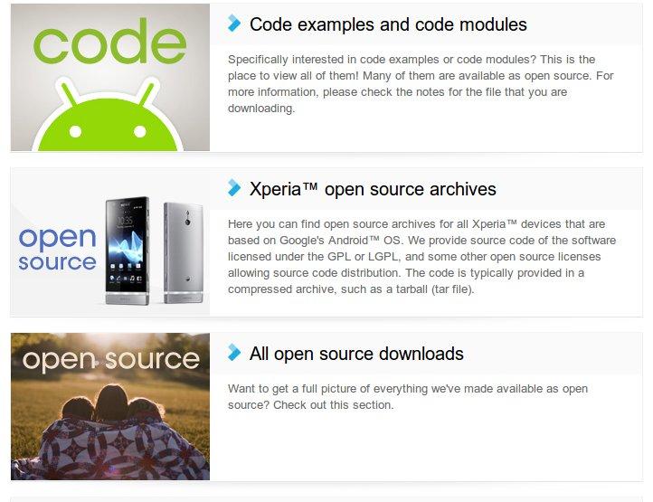 Sony Open Source