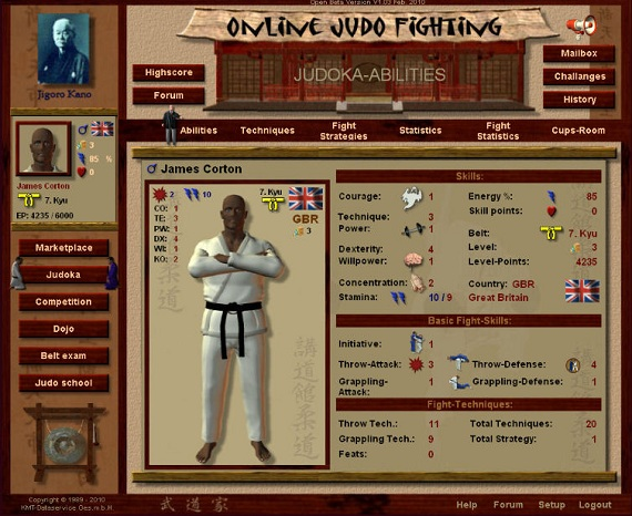 Browsergames Sportspiele Screenshot