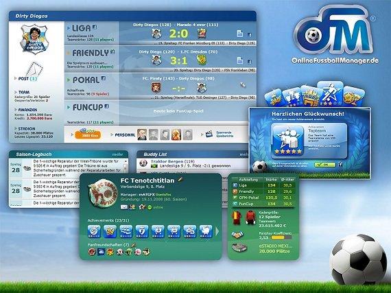 Browsergames Sportspiele Screenshot