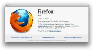 Firefox 20: Browser kombiniert privaten und öffentlichen Modus