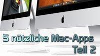 Fünf nützliche Gratis-Apps für den Mac (Teil 2)