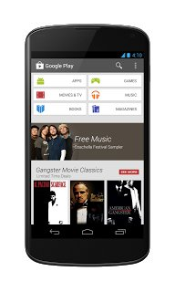 Google Play Store 4.0 Home - Phone