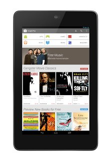 Google Play Store 4.0 Home - Tablet