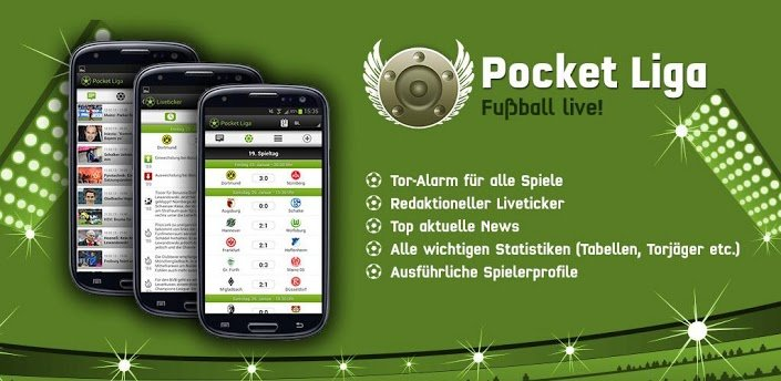 Pocket Liga - Live Ticker