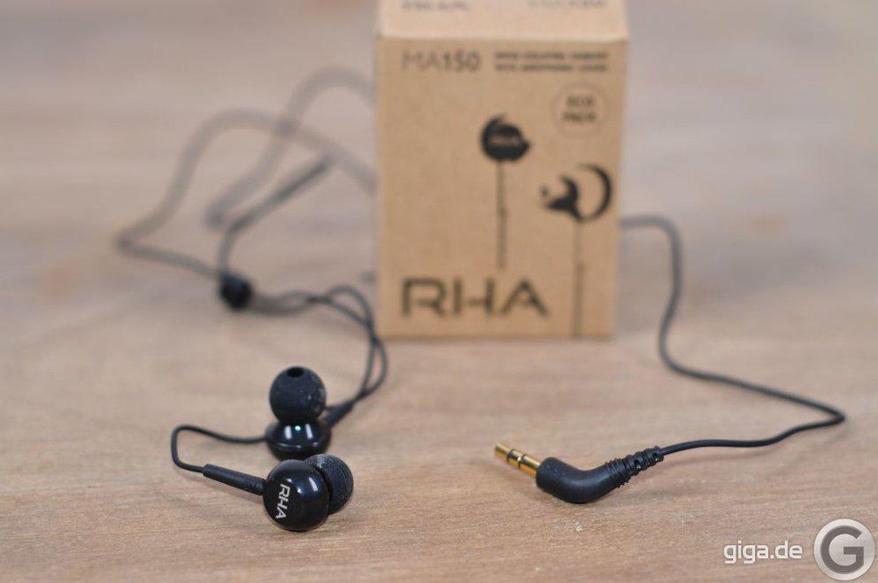 RHA MA150 Kopfhörer: Kleine Packung, großer Inhalt (Testbericht)
