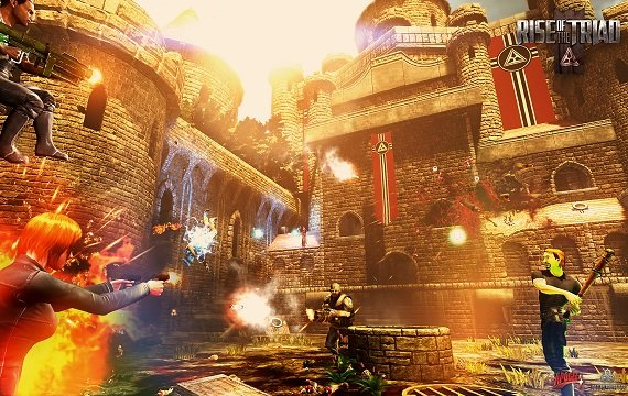 Rise of the Triad: 18 Minuten Multiplayer-Gameplay