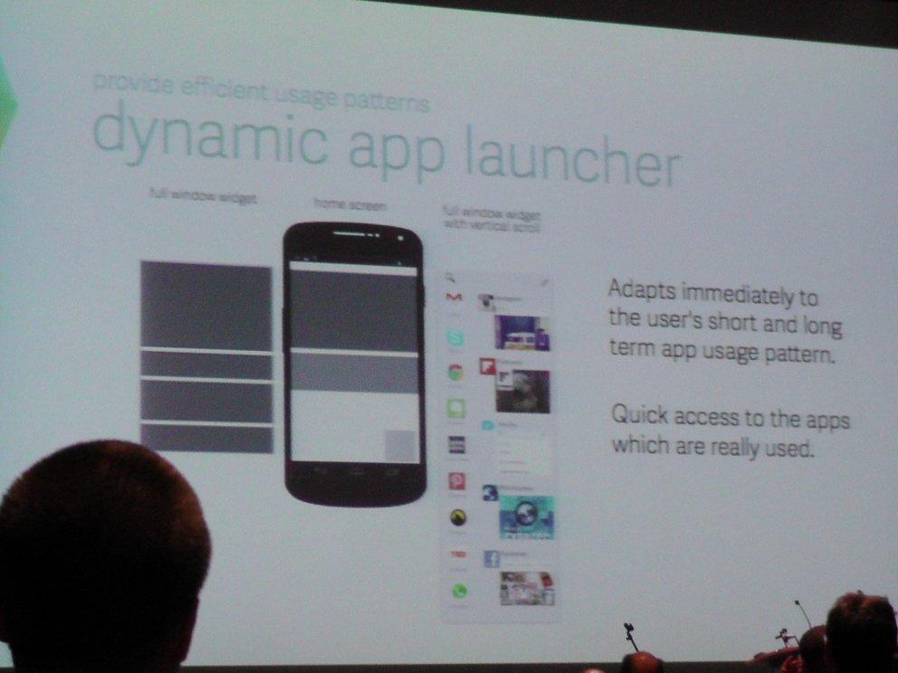 dynamischer App-Launcher