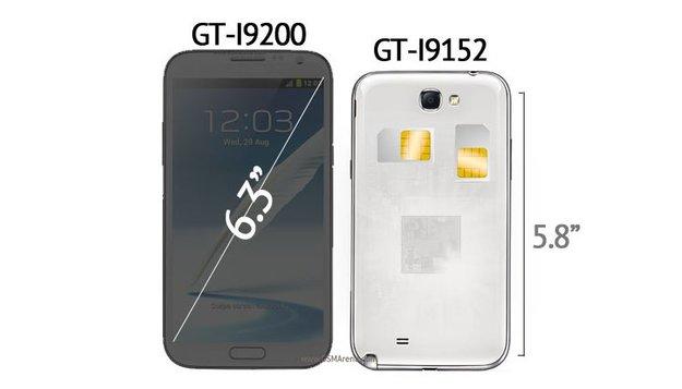 """Samsung Galaxy Mega: Wird Samsung jetzt """"Größen""""-wahnsinnig?"""