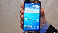 Samsung Galaxy S4 Kratztest