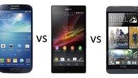 Kameravergleich: HTC One vs Samsung Galaxy S4 vs Sony Xperia Z