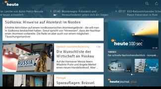 ZDFheute App – funktioniert jetzt auch auf Tablets