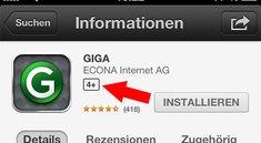 Apple hebt Altersfreigabe im App Store hervor