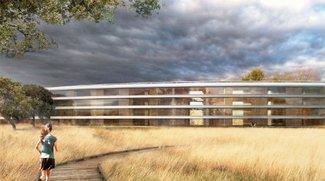 Apples UFO-Campus: Überarbeitete Pläne zeigen Details des Umlands