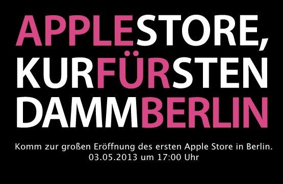 Apple Store, Kurfürstendamm Berlin: Eröffnungstermin bekannt