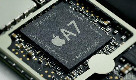 Apple A7: Gerüchte um 31 Prozent Geschwindigkeitsplus und um 64-Bit